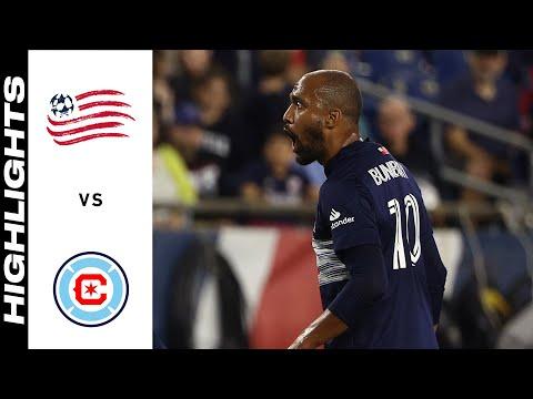 HIGHLIGHTS: New England Revolution vs. Chicago Fire FC | October 16, 2021