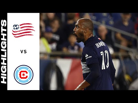 New England Chicago Goals And Highlights