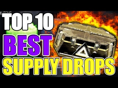 """BEST SUPPLY DROPS"" in ADVANCED WARFARE Ep.13 (Top 10 - Top Ten) Call of Duty AW"