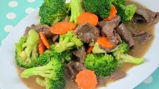 How To Make Restaurant Style  Beef And Broccoli เนื้อผัดบร็อคโคลี่