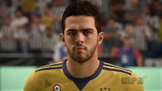 Fifa 18 - juventus player faces