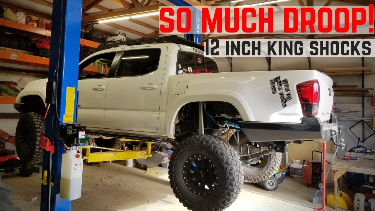 3rd Gen Tacoma Shock Relocation |12 inch King Shocks!