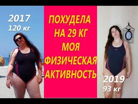 Похудела на 29 кг Моя физическая активность или Буду ли я заниматься спортом
