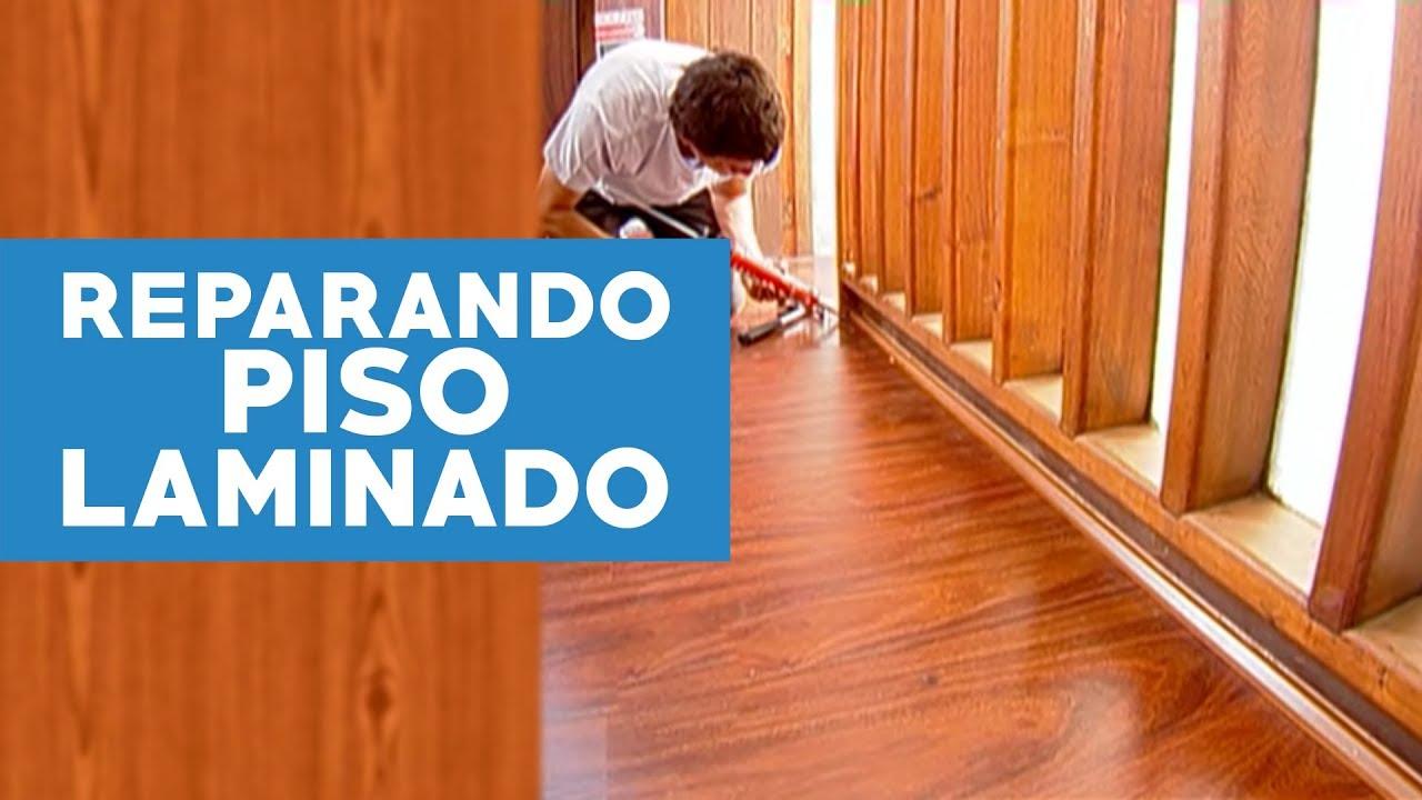 C mo reparar un piso laminado h medo doovi - Como quitar la humedad de mi casa ...
