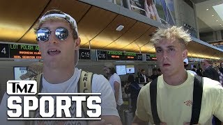 Logan & Jake Paul Want UFC Fight, Call Out Conor McGregor and CM Punk | TMZ Sports