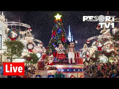 🔴Live: Mickey's Very Merry Christmas Party Live Stream - 11-16-18 - Disney's Magic Kingdom Mp3