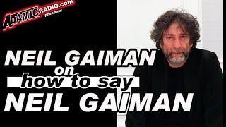 Chabon Gaiman