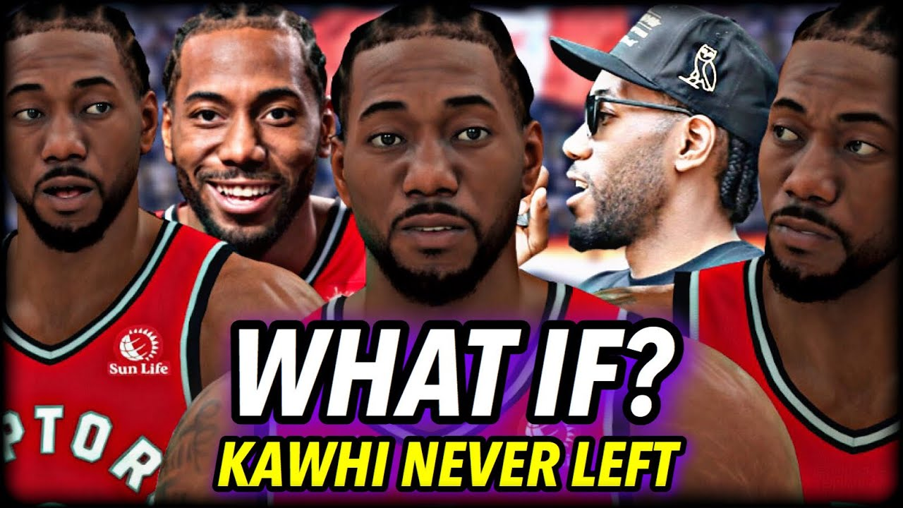 What if Kawhi NEVER LEFT the RAPTORS? | NBA 2K21 Simulation