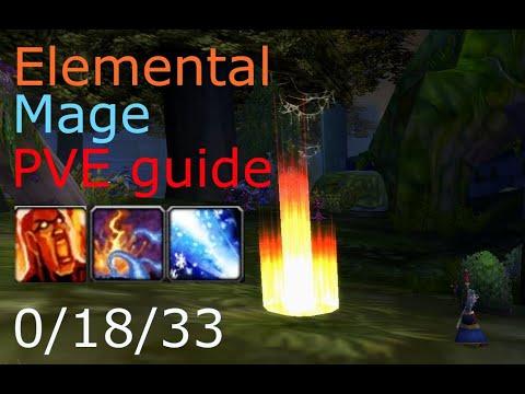 Elemental Mage PVE гайд Wow Classic - таланты, ротация, теорикрафт