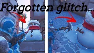 Forgotten fortnite glitch