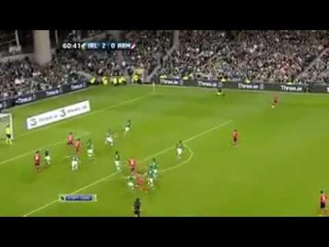 ЕВРО 2012 Ирландия - Армения 2-й тайм EURO  2012 Irland-Armenia 2st Half