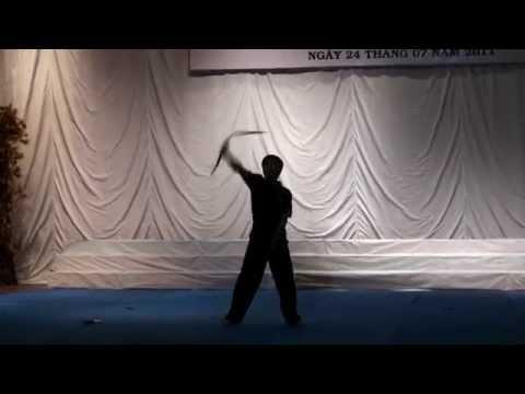 Côn nhị khúc quận 9 giao lưu biểu diễn võ thuật