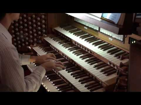 HD Canon in D major - Pachelbel - Organ Solo John Hong - 파헬벨 캐논