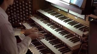 HD Canon in D major - Pachelbel - Organ Solo John Hong - 파헬벨 캐논