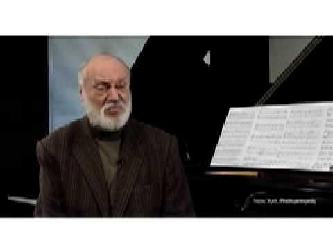 Kurt Masur on Bach's St. Matthew Passion