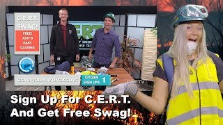 C.E.R.T. Swag Bag - Free With Just 8 Easy Classes (PSA - #Funny)