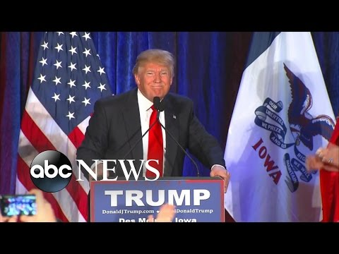 Trump Speech | FULL Concession Speech After Losing to Cruz In Iowa: 'Iowa, We Love You'