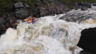 Водный поход  река Печа река Ура  река Титовка  река Западная Лица  Мурманская область