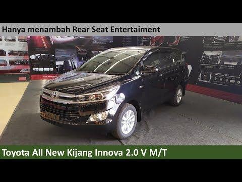 Toyota Kijang Innova 2.0 V M/T [AN140] review - Indonesia