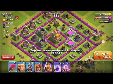 C. O. C  clash of clans top win attack  🎉🎉🎉🎉🎉🎉