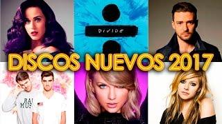 DISCOS NUEVOS 2017 - LOS 17 DISCOS MÁS ESPERADOS | MÚSICA NUEVA POP ROCK ELECTRÓNICA |  WOW QUÉ PASA