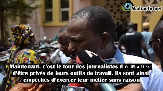 Mali : Les journalistes de Mali Actu