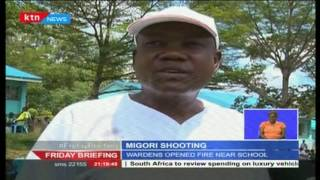 Wardens shoot a schoolgirl in pursuit of an inmate in Migori County
