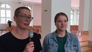 Ulrike Kretzmer und Daniela Ishorst zu Podcasts – oder die Kunst, Museen hörbar zu machen