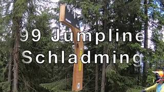 99 Jumpline  @ Bikepark Schladming jump count check