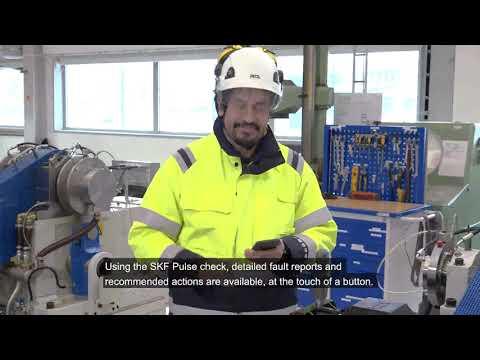 SKF's new Plug & Play QuickCollect asset health sensor