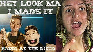 Panic! At The Disco - Hey Look Ma, I Made It (Official Music Video) Reaction