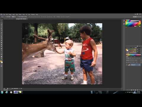 Photoshop Tutorial - 4 - Opening and Inserting Images