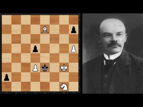 Magical Chess endgame study by the Platov brothers