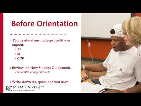 Academic Advising at Summer Orientation | Orientation and Transition