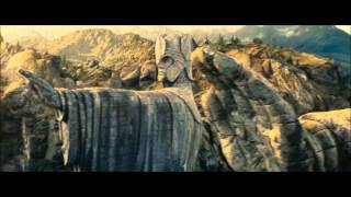 LOTR The Fellowship Of The Ring - The Argonath