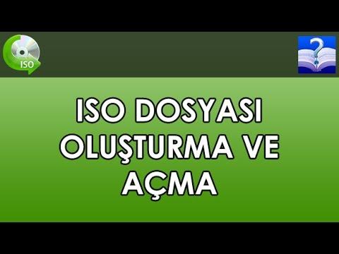 ISO Dosyası Oluşturma ve Açma. AnyToISO Programı İle