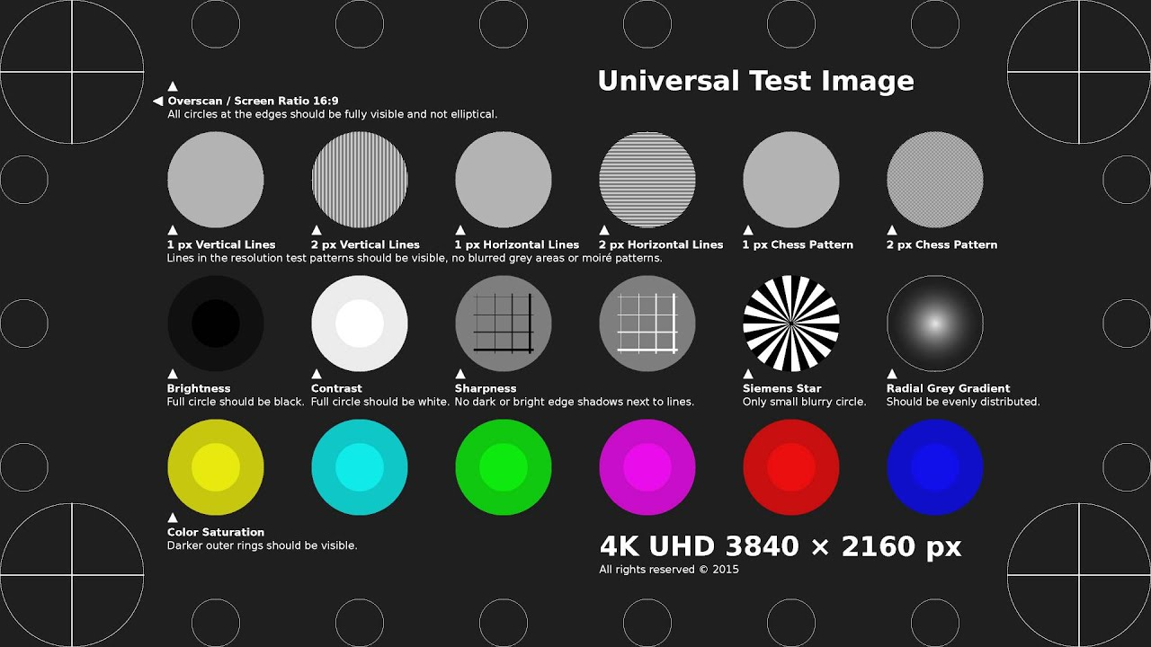 TobyFree com - 4K UHD Test Pattern H 264 MP4