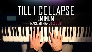 How To Play: Eminem - Till I Collapse | Piano Tutorial Lesson