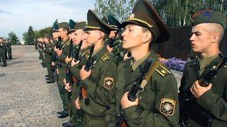 Курсанты военного факультета приняли присягу на верность Родине и белорусскому народу