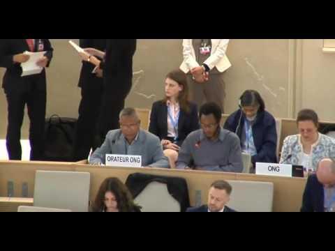 35th Regular Session Human Rights Council - General Debate Item:2 - Mr Kobia