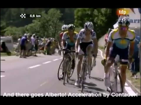 2009 Tour de France - Contador Dethrones Armstrong