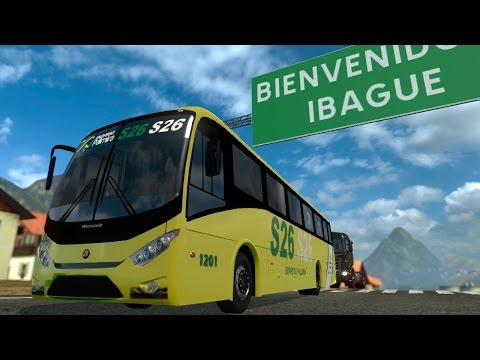 ETS2 | Colombia VW Ideale 770 / Marco Polo | Cali a Ibague
