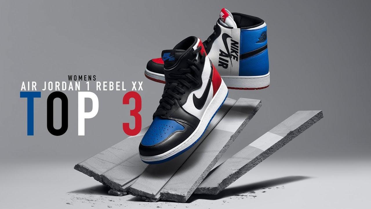 5c7c3ee357b12 FIRST LOOK  Air Jordan 1 Rebel  Top 3