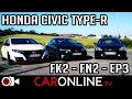 Honda CIVIC Type-R FK2: CONFRONTO de Gerações! [Review Portugal]