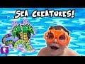 Ocean Fish Toy Surprises by HobbyKidsTV