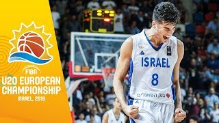 Best Plays of MVP Deni Avdija | FIBA U20 European Championship 2019