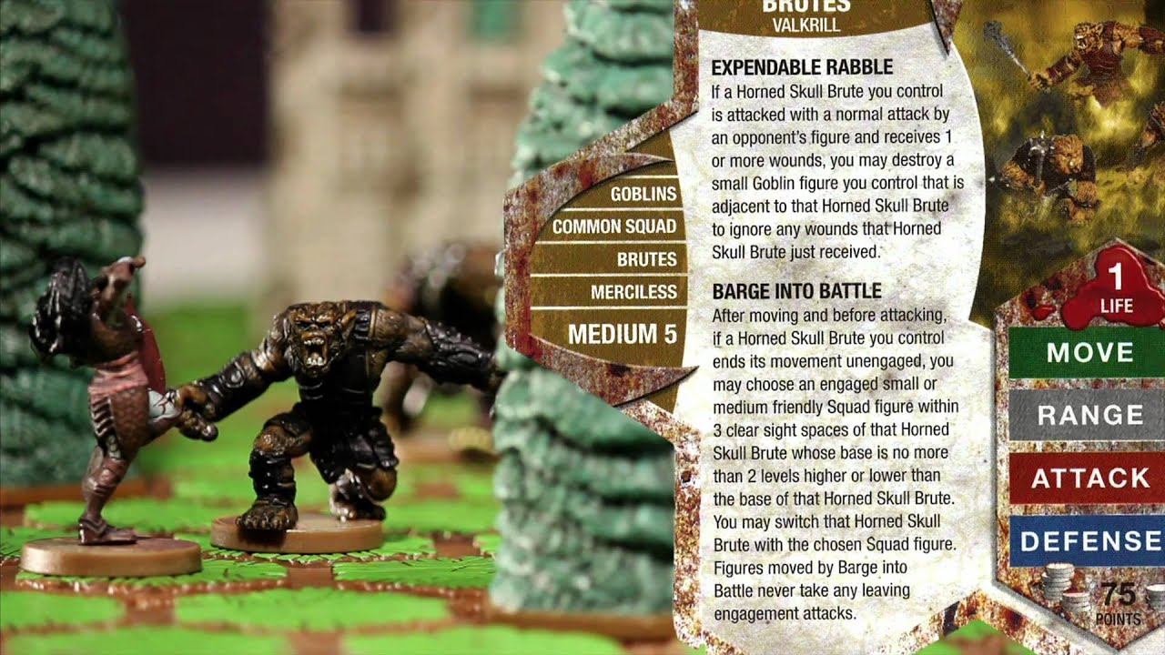 Heroscape Review Bugbears And Orcs Youtube