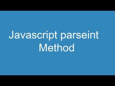 Javascript parseint method thumbnail