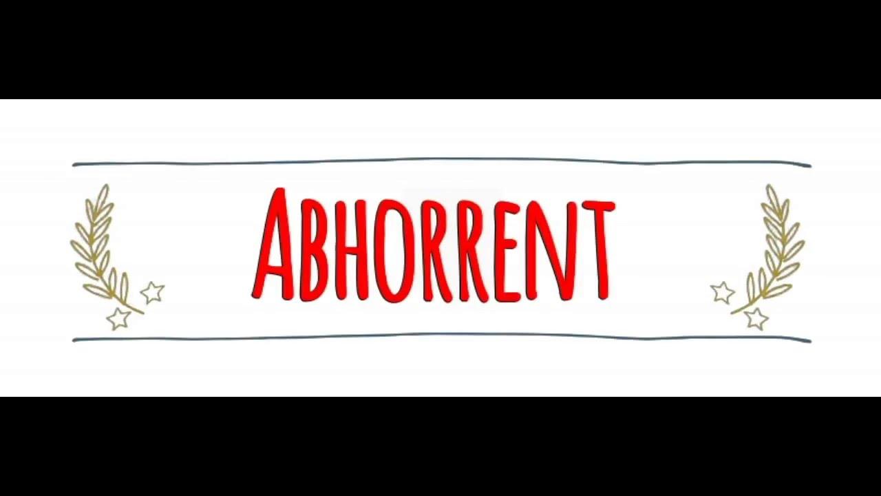 American vs Australian Accent: How to Pronounce ABHORRENT in an Australian  or American Accent