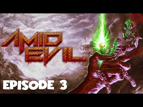 AMID EVIL | Episode 3 - The Sacred Path playthrough